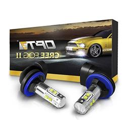 OPT7 881  CREE XLamp LED DRL Fog Light Bulbs - 5000K Bright