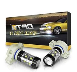 OPT7 CREE Series 5202 LED DRL Fog Light Bulbs - 5000k Bright
