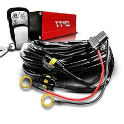 OPT7 LED Light Bar Wiring Harness with Wireless Remote Switc