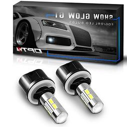 OPT7 Show Glow G1 880  LED Fog Light Bulbs - 6000K Cool Whit