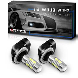 OPT7 Show Glow G1 881  LED Fog Light Bulbs - 6000K Cool Whit