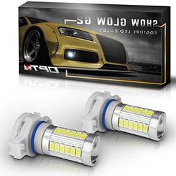 OPT7 Show Glow G2 5202 2504 LED Fog Light Bulbs - 6000K Cool