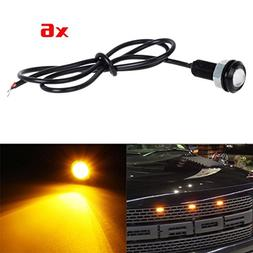 Partsam 6x 3000K Amber LED Eagle Eye Lights for Ford F150 Ra