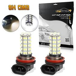 Partsam Car White LED H8 H11 Fog Driving Bulb Light Lamp 12V