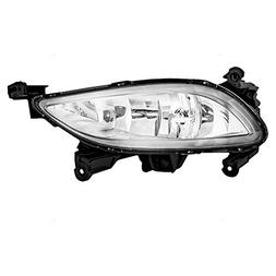 Passengers Fog Light Lamp Replacement for Hyundai 92202-3Q00