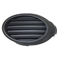 Passengers Front Bumper Fog Light Lamp Lens Hole Cover Grill
