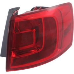 Perfect Fit Group REPV730306 - Jetta Tail Lamp LH, Outer, As