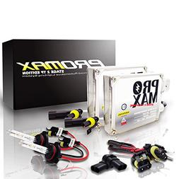 Promax Stage 2 TP Edition HID Xenon Conversion Kit with Prem