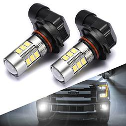 SEALIGHT 9145/9140/H10/9045/9040 LED Fog Lights Bulbs, DOT A