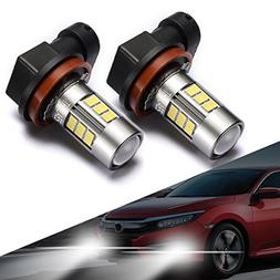 SEALIGHT H11/H8 LED Fog Lights Bulbs, Upgrade H16 LED Lamps