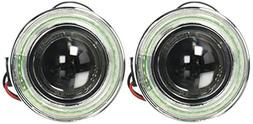 """Spec-D Tuning LFP-RND3HLED40-WQ 3"""" Round White Clear SMD LED"""