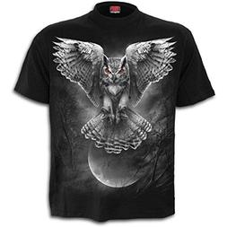 Spiral - WINGS OF WISDOM - Men's Short Sleeve T-Shirt . Blac