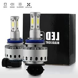 Syneticusa H11/H9/H8 LED Low Beam Headlight Conversion Kit F