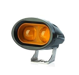 "TASWK 4"" 20W Offroad Headlights 4D Lens Spot Beam Led Work L"
