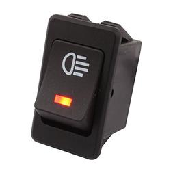 TOMALL LED Car Replacement Fog Light Toggle Switch DC 12V 35