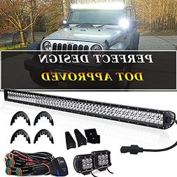 "Led Light Bar TURBOSII 52"" Inch 300W Flood Spot Combo LED Wo"