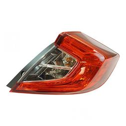Tail Light Lamp Rear LH Driver Side for Honda Civic 4 Door S
