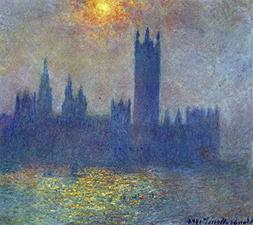The Museum Outlet - The Houses of Parliament, sunlight in th