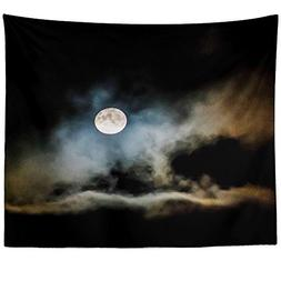 Westlake Art - Moon Night - Wall Hanging Tapestry - Picture