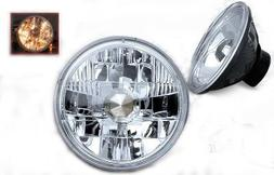 """Winjet 5"""" Round Conversion Head Light Clear"""