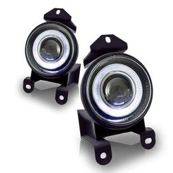 Winjet WJ30-0064-09 Clear Lens Projector Fog Light with LED