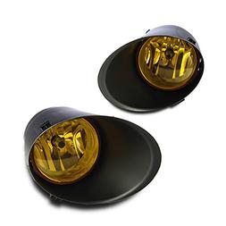 Winjet WJ30-0328-12 Yellow Lens Fog Light Kit