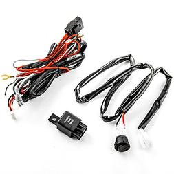Wiring Harness Kit for LED Lights 200W 12V 40A Fuse Relay On