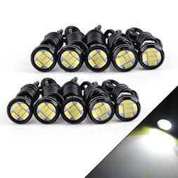 YITAMOTOR 10 x Eagle Eye LED White 23mm