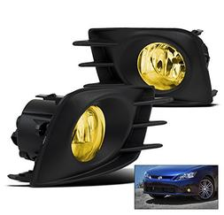ZMAUTOPARTS Scion Tc Bumper Driving Yellow Fog Light Lamp Ki