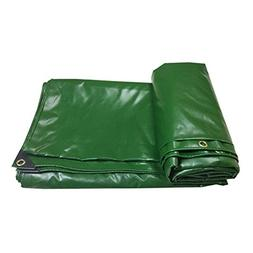 CHAOXIANG Tarpaulin Sheet Thicken Canvas Double-sided Waterp