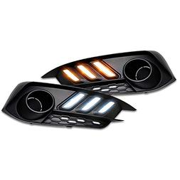 RCP -CVI-DRL01- Aftermarket Mustang Style LED Daytime Runnin