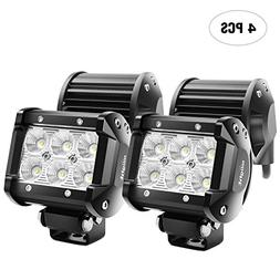 Nilight LED Daytime Running Light Modules Light Bar 4PCS 4 I