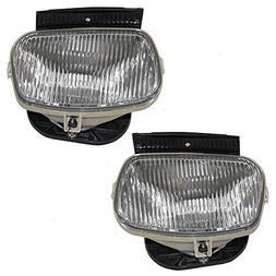Driver and Passenger Fog Lamps Replacement for Ford Mazda ZZ