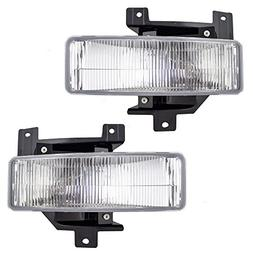 Driver and Passenger Fog Lights Lamps Replacement for Ford P