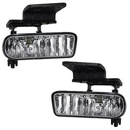 Driver and Passenger Fog Lights Lamps Replacement for Chevro