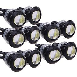E Support 9W Led Drl Eagle Eye Light Car Pack of 10