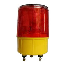 DE-Spark Emergency LED Solar Powered Strobe Warning Light, R