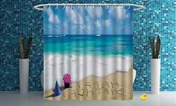 iPrint Fabric Shower Curtain  Bathroom Accessories Shower Cu