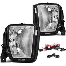 AUTOSAVER88 Factory Style Fog Lights For Dodge Ram 1500 2013