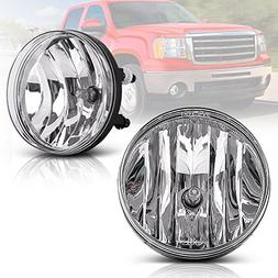 Fog Lights For GMC Sierra 1500 2007-2013 Sierra 2500 3500 20