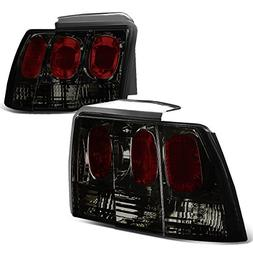 For Ford Mustang SN95 Pair of Smoked Lens Altezza Style Tail