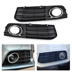 beler Front Left + Right Bumper Insert Fog Light Lamp Cover
