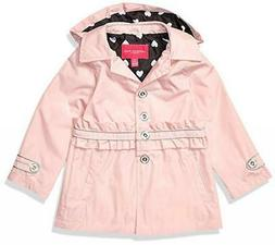London Fog Girls Light Pink Trench Jacket Size 2T 3T 4T 4 5/