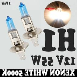 H1 HID Xenon High Low Beam Headlight Fog Lights Bulbs 55W 50