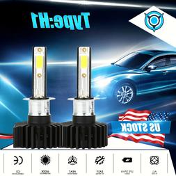 H1 LED Headlight Bulb Kit 2200W 330000LM High Beam Fog Light
