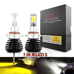 CAR ROVER H11 H8 H9 LED Fog Lights Lamps Replacement - Dual