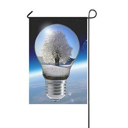 Home Decorative Outdoor Double Sided Light Tree Winter Ice P