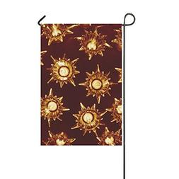 RYUIFI Home Decorative Outdoor Double Sided Lights Star Glos