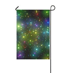 WIEDLKL Home Decorative Outdoor Double Sided Star Color Ligh