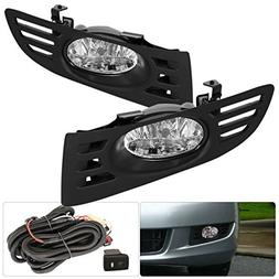 For Honda Accord Coupe 2 Door Jdm Oem Fog Light Clear Lens +